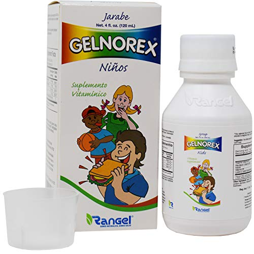 Gelnorex Children's Vitamin B Supplement Syrup 4oz by Rangel