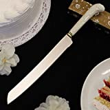 Ivory Porcelain Cake Knife - Set of 108