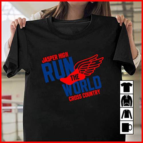 (Running Jasper High Run The World Cross Country T Shirt Long Sleeve Sweatshirt Hoodie Youth)