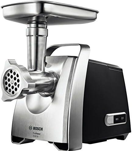 Bosch MFW68660, Picadora de Carne, 2200 W, Color Gris: Amazon.es: Hogar