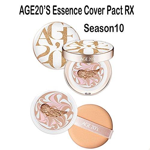 AGE 20S Essence Cover Pact RX SPF50+ / PA +++ Season 10 (#21) 12.5g + Refill 12.5g
