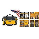 DEWALT 20V MAX Impact Driver and Drill Combo Kit