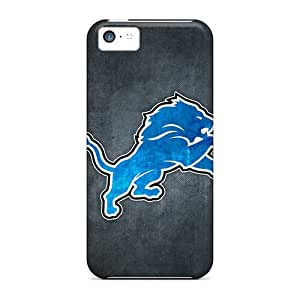 Apple Iphone 5c NAn15270yMwU Support Personal Customs Beautiful Detroit Lions 10 Image Durable Cell-phone Hard Cover -TammyCullen