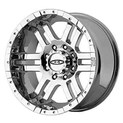 Amazon Com Moto Metal Series Mo951 Chrome Wheel 18x9 6x5 5