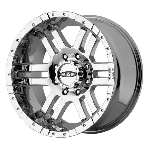 8x170 truck rims chrome - 7