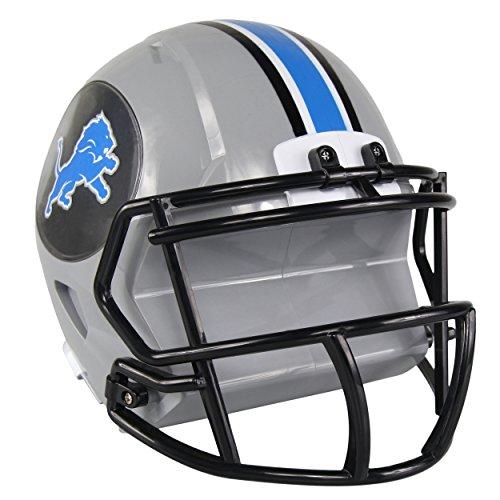 Lions Team Helmet (NFL Detroit Lions Abs Helmet Bank, Blue, One Size)