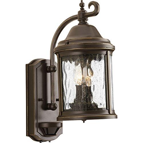 Progress P5854-20 Ashmore 2 Light 15 inch Antique Bronze Outdoor Wall Lantern (id#lnylightingoutlet it#175142084212775