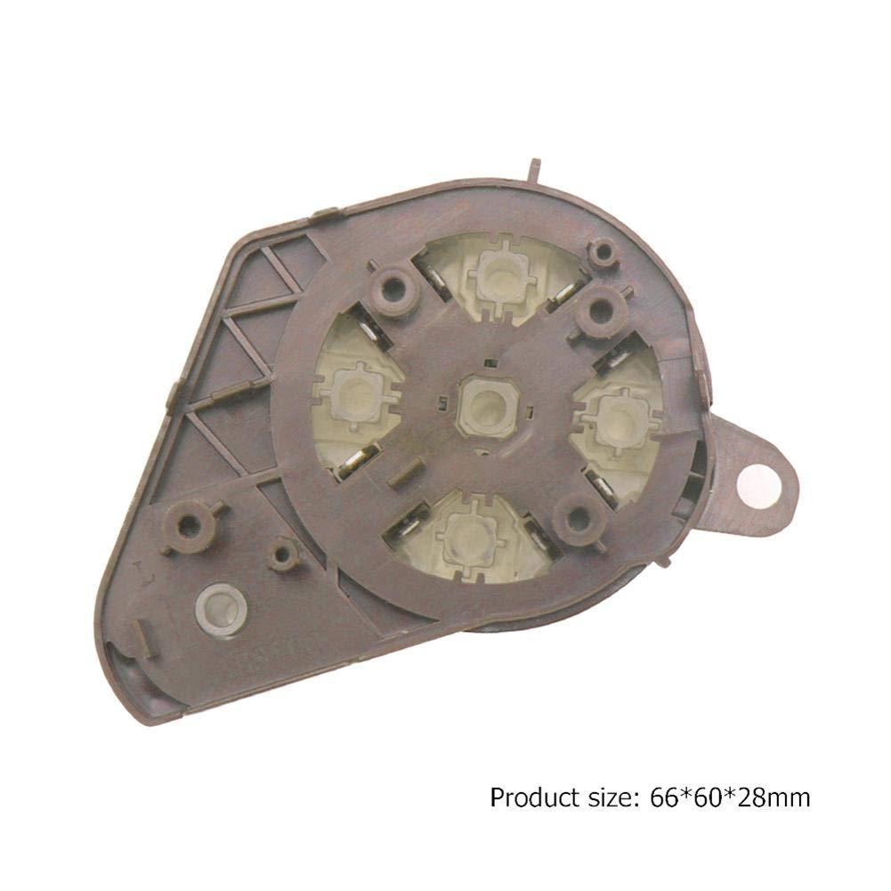 Matefield Botones de Interruptor de Volante Multifunci/ón Izquierdo para Clase C//E//Glk Gris