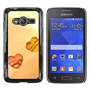 Exotic-Star ( Love Amber Love ) Fundas Cover Cubre Hard Case Cover para Samsung Galaxy Ace4 / Galaxy Ace 4 LTE / SM-G313F
