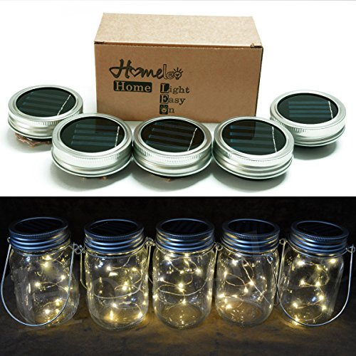 outdoor mason jar lights - 9