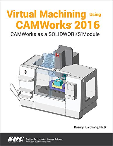 Virtual Machining Using CAMWorks 2016-cover