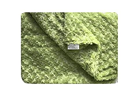 Magic Weighted Blanket in Luxurious Soft Chenille (42 x 72 - 16, Sage Green Chenille) - Sage Green Chenille