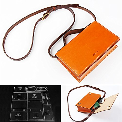 Leather Handbag Patterns (WUTA Leather Women Shoulder Bag Handbag Acrylic Template Leather Pattern WT949)