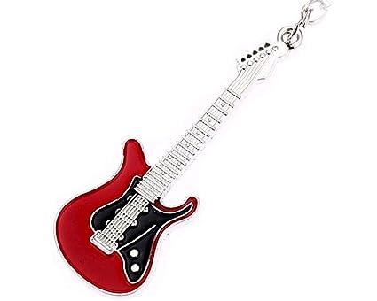 Leonor - Llavero Original de Guitarra Rock para guitarristas ...