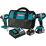 Makita XT269T 18V LXT Lithium-Ion Brushless Cordless 2-Pc. Combo Kit (5.0Ah)
