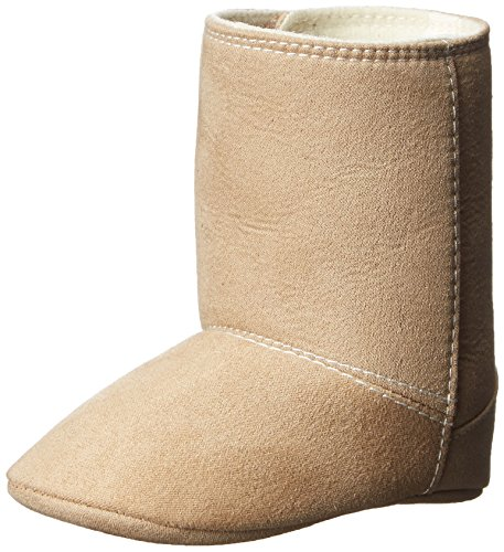 Baby Deer Tan Suedecloth Fashion Boot (Infant), Tan, 0 M US Infant