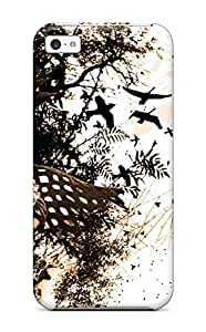 High Quality Shock Absorbing Case For Iphone 5c-dark Fantasy