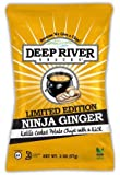 Ninja ginger kettle cooked potato chips 2 ounce ~ 24 bags per case