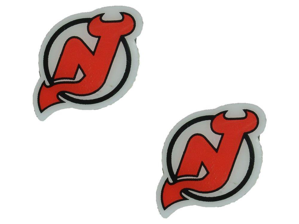 NHL New Jersey Devils Logo Post Earrings