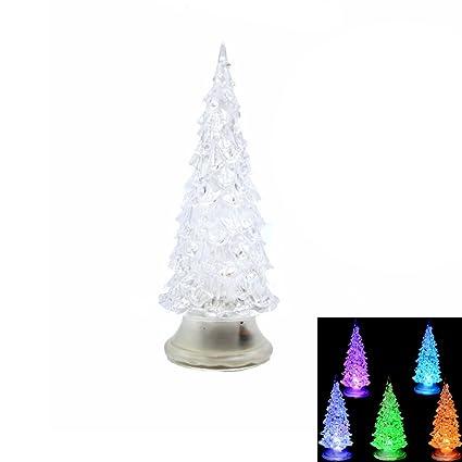 Amazon Com Bestoyard Pre Lit Christmas Tree Led Light Up Christmas