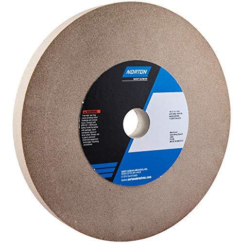 (Norton Gemini Bench and Pedestal Abrasive Wheel, Type 01 Straight, Aluminum Oxide, 1-1/4
