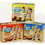 Mauna Loa Macadamia Nut TRIO Gift Set: ISLAND CLASSICS ASSORTMENT (Maui Onion & Garlic, Kona Coffee Glazed, Milk Chocolate Covered & Dry Roasted with Sea Salt), DRY ROASTED MACADAMIAS & HONEY ROASTED MACADAMIAS (18 CANS TOTAL) by Mauna Loa