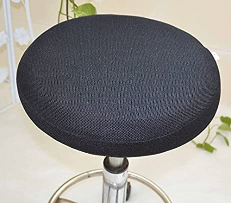 amazon com 14 round bar stool cover breathable fabric to proctect