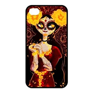 The Book of Life Pattern Design Solid Rubber Customized Cover Case for iPhone 4 4s 4s-linda243