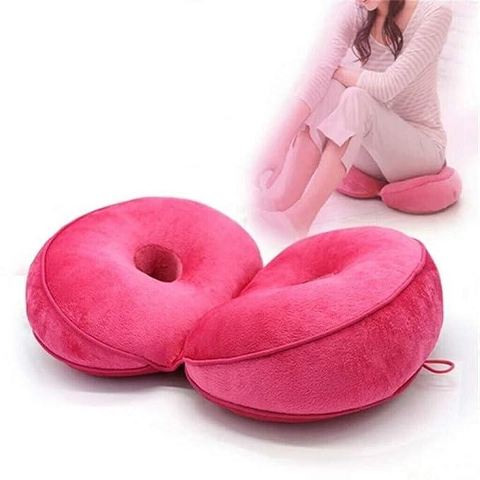 Amazon.com: Cojín de doble confort para elevación de caderas ...