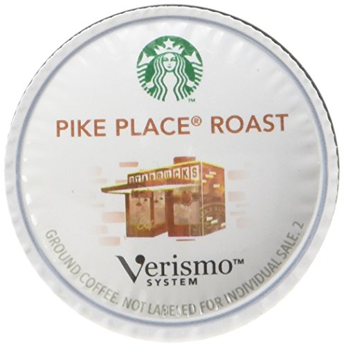 Starbucks Pike Place Roast Coffee Verismo Pods, 12 Count