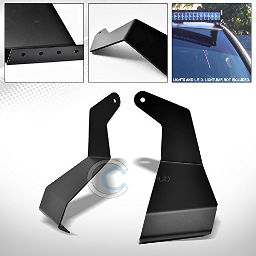 (Velocity Racing Black Roof Pillar Mount Bracket Kit For 52