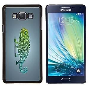 "For Samsung Galaxy A7 ( A7000 ) , S-type Funky Rainbow Camaleón"" - Arte & diseño plástico duro Fundas Cover Cubre Hard Case Cover"