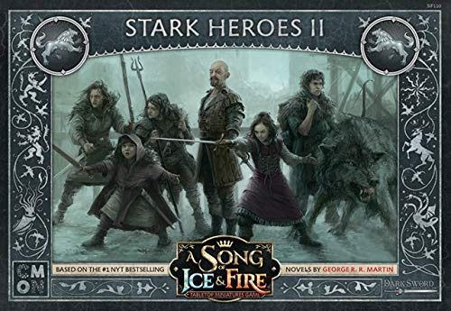- CMON A Song of Ice & Fire: Stark Heroes Box 2