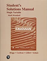 Student's Solutions Manual for Single Variable Calculus: Early Transcendentals
