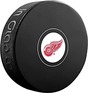 Detroit Red Wings Sher-Wood NHL Souvenir Autograph Hockey Puck