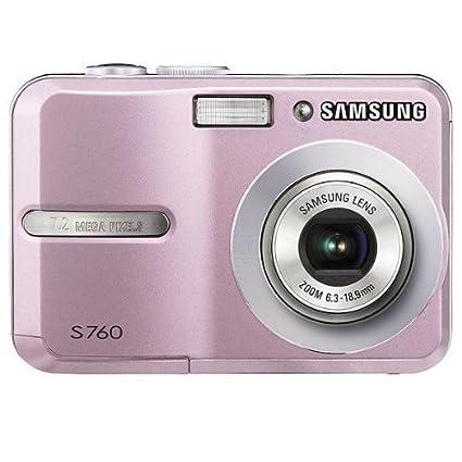 Samsung S760 - Cámara Digital Compacta 7.2 MP (2.4 pulgadas LCD, 3x Zoom Óptico