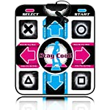 OSTENT USB Non-Slip Dancing Step Dance Mat Pad Blanket Compatible for PC Laptop Video Game