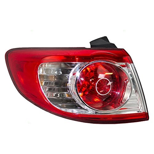 Drivers Taillight Tail Lamp Replacement for Hyundai SUV 92401-0W500 (Lamp Santa)