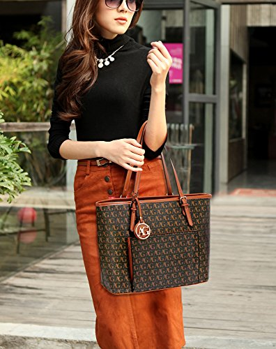 Designer Tote New Leather Womens Faux Bag Black Handbag Fashion Ladies Shoulder fppn8dTa
