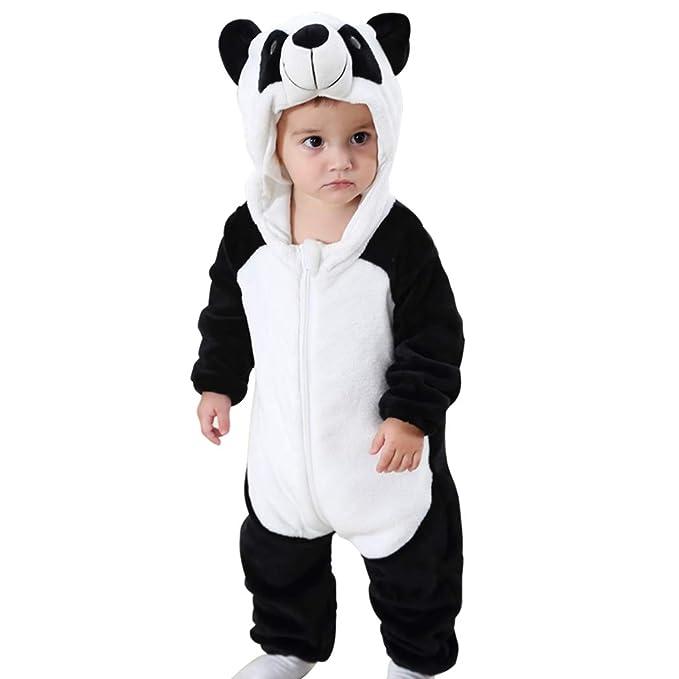 Traje de Franela Encapuchado para Bebé Recién Nacido Ropa Mameluco Pelele con Capucha Niños Niñas Pijama