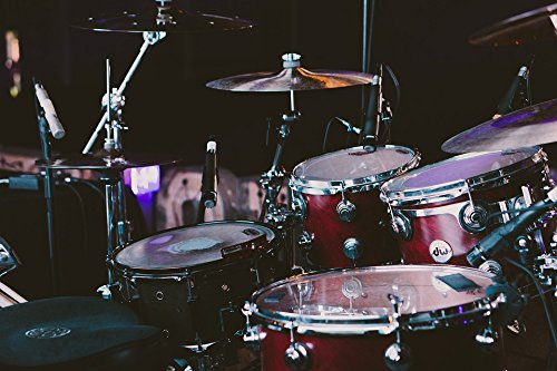 Home Comforts Laminated Poster Musical Instruments Drum Set Drums Poster Print 24 x 36