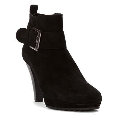 Liliana 12 Women US 10.5 Black Ankle Boot