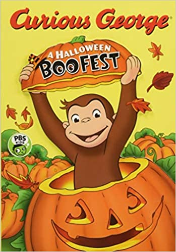 curious george a halloween boo fest h a rey 9781328548320 amazoncom books