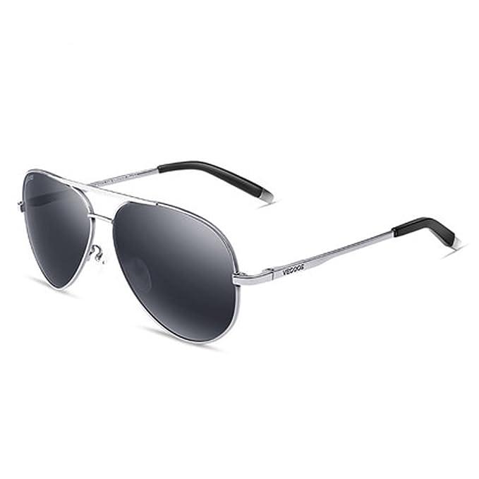 Gafas de sol polarizadas de los hombres gafas de sol espejo ...