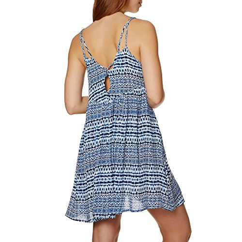 w white aop Pacific Kleid blue O'Neill Print Kleid Grove cOBnw0Wq
