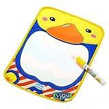 Doinshop Cute Doodle Toy Gift Magic Pen+Water Drawing Painting Writing Mat Board 36*26.5CM