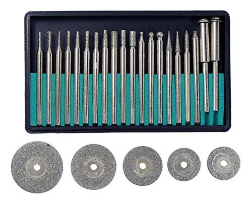 SE - Diamond Points & Wheels Set, 25 Pc - DW25