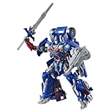 Transformers: the Last Knight Premier Edition Leader Class Optimus Prime - the Autobot Leader Converts From Knight Mode To Truck Mode - Fight Off Evil Megatron With Optimus