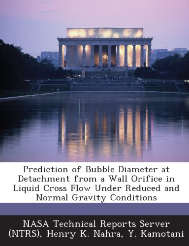 (Prediction of Bubble Diameter at Detachment from a Wall Orifice in Liquid Cross Flow Under Reduced and Normal Gravity Conditions)