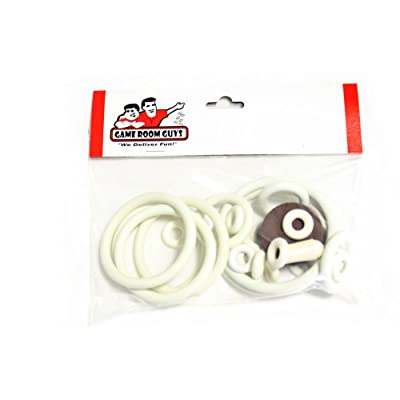 Game Room Guys Gottlieb Mini Cycle Pinball White Rubber Ring Kit : Arcade Pinball Machine Parts And Accessories : Sports & Outdoors
